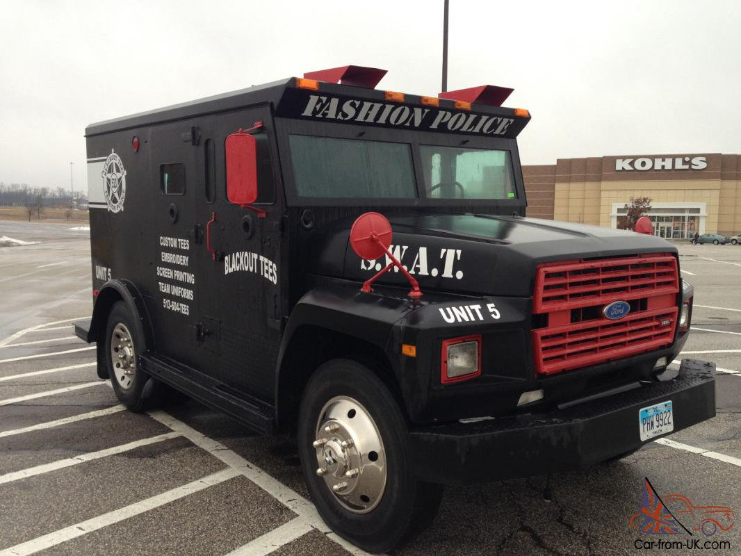 Armored Truck For Sale >> 1987 Ford Detroit F600 Diesel Truck Other Swat Armored Truck Based Bank Brinks
