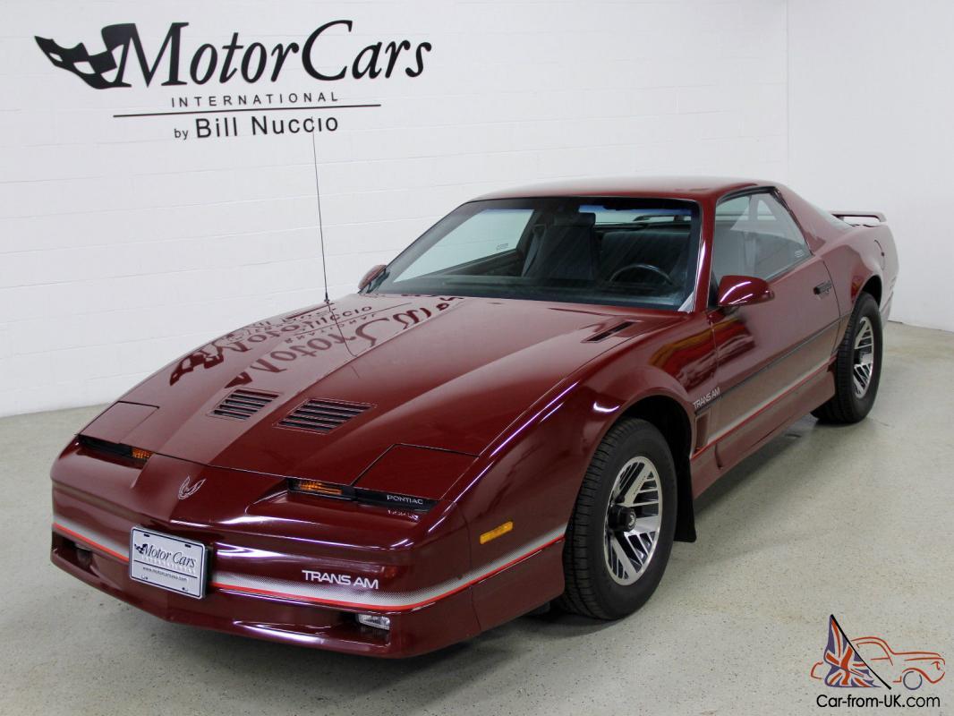 85 Pontiac Firebird T/A Trans Am 550 HP for sale: photos ...  |1985 Firebird Price Bra