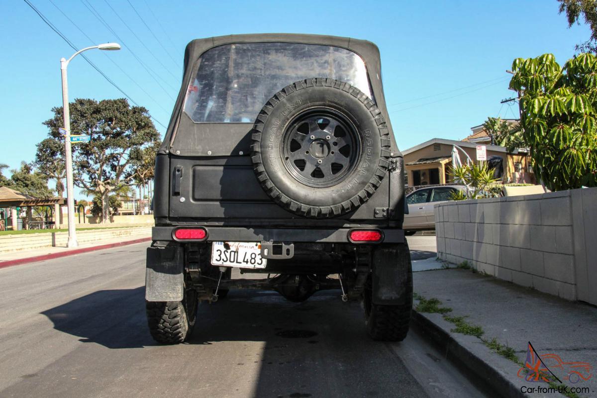 1986 Suzuki Samurai 1 6l Efi 4x4 Off Road Rock Crawler