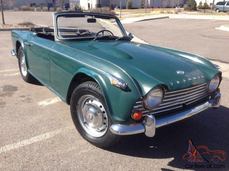 1967 Triumph TR4, perfect restoration project or drive as is, runs and  drives!!