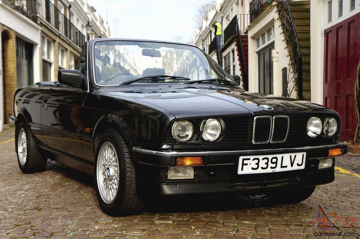 Bmw E30 325i Convertible 1989