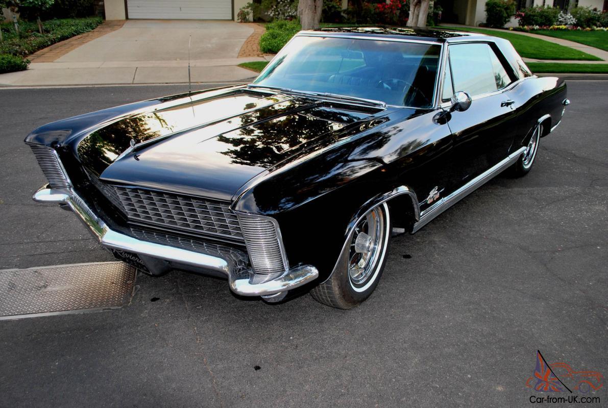 1965 Buick Riviera GRAN SPORT Beautiful Black/Black ...