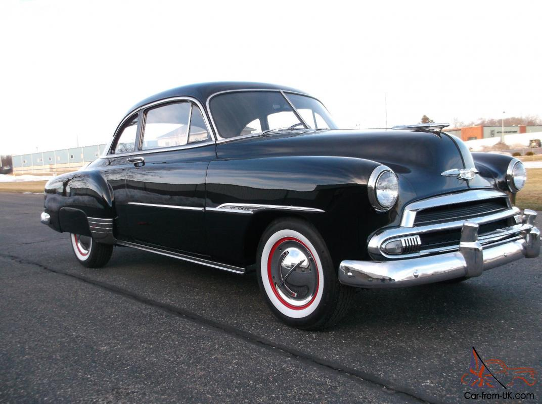 All Chevy 1951 chevy deluxe for sale : Chevy Deluxe Coupe, Extra Clean, Rust Free Car