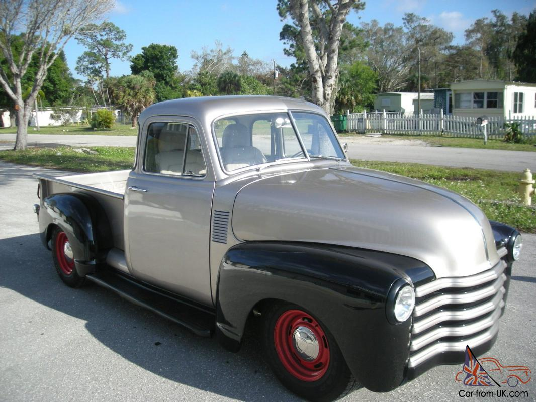 Pickup 1952 chevy pickup for sale : Chevy Pickup 5 window 1947, 1948, 1949, 1950, 1951, 1952 Protour