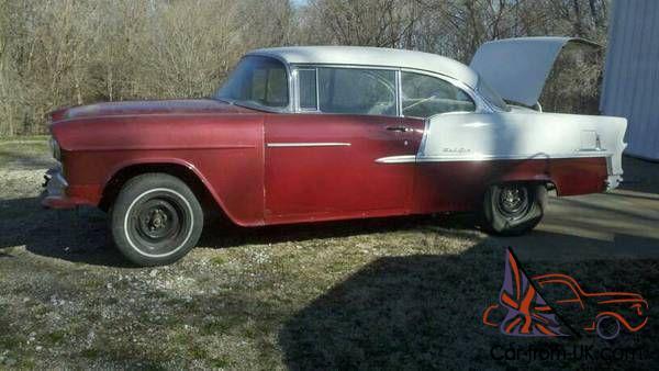 1955 Chevrolet Hardtop Project Chevy Ls Bbc Sbc T56