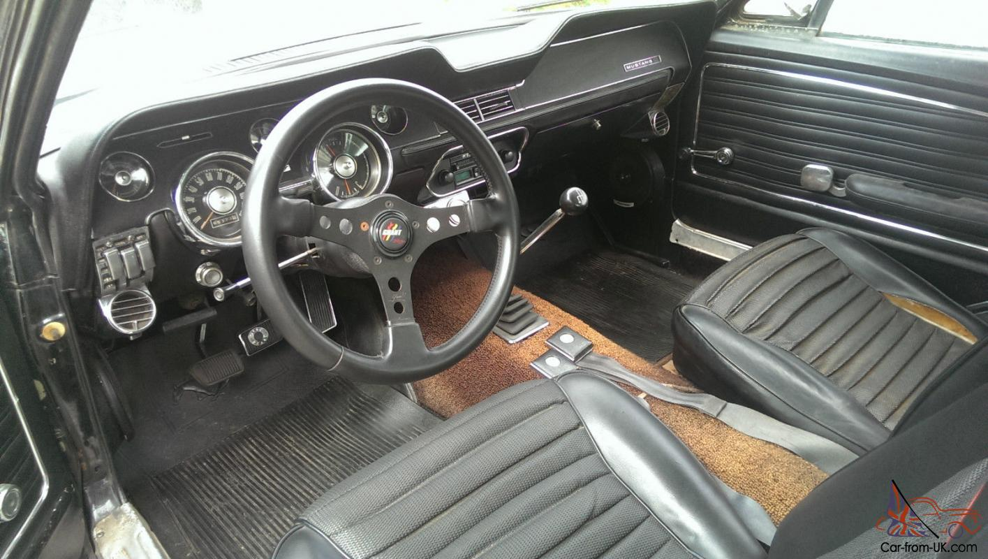 1968 Ford Mustang 390 Gt 2 2 Fastback >> 68 Mustang GT S code Fastback