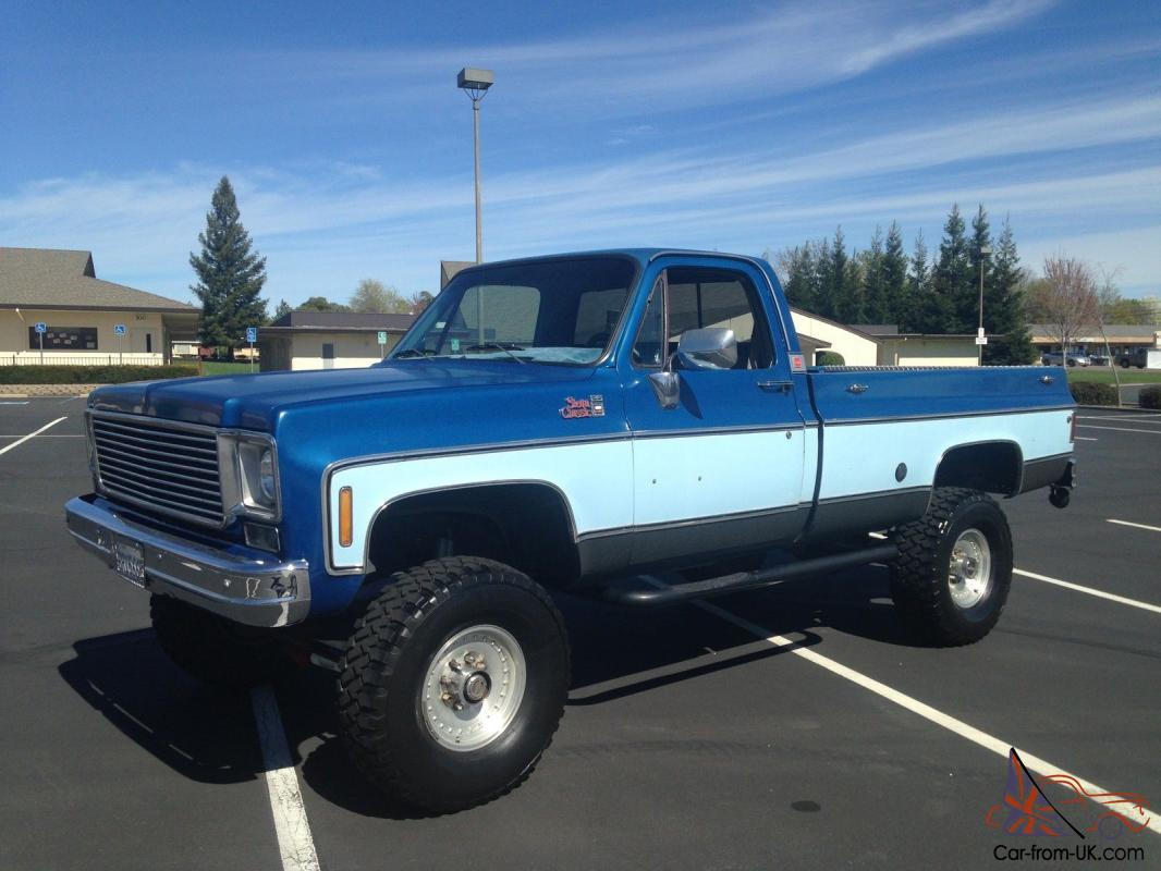 1976 Gmc 3 4 Ton 4x4 Rust Free With Upgrades 1970 Ford F 350 Photo