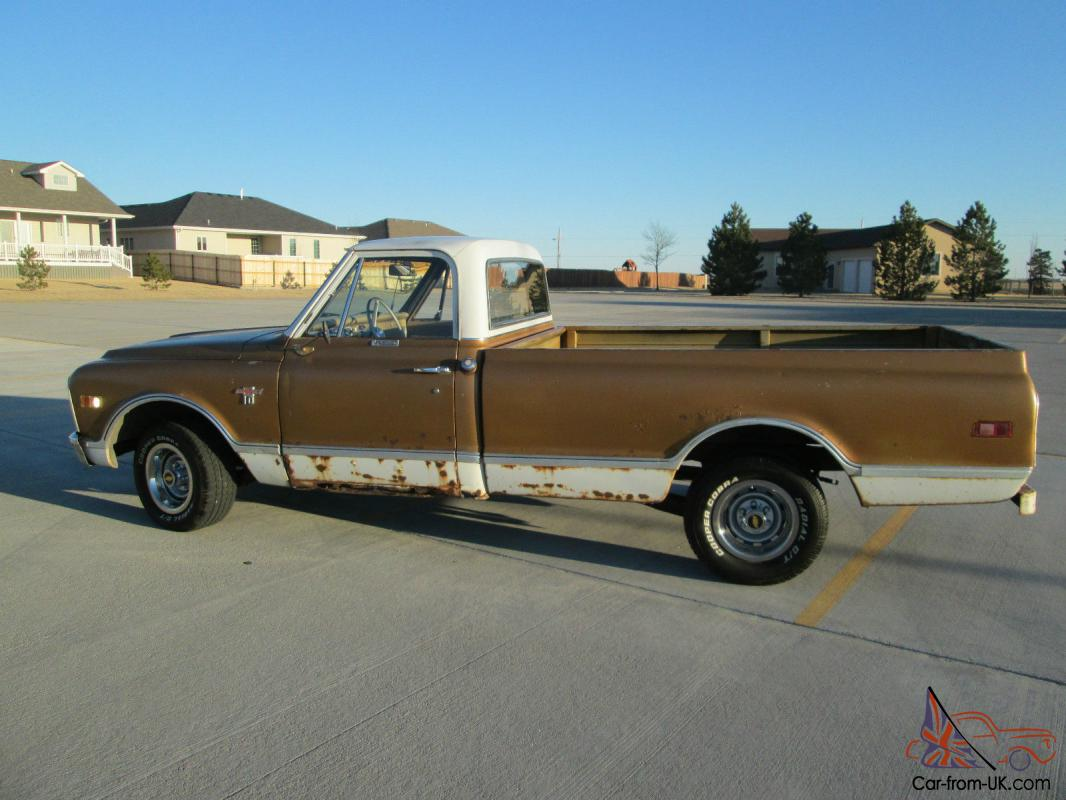 1968 Chevy C10 50th Anniversary Pickup Muscle Truck Like Gmc Hot Rod Datsun Wiring Diagram