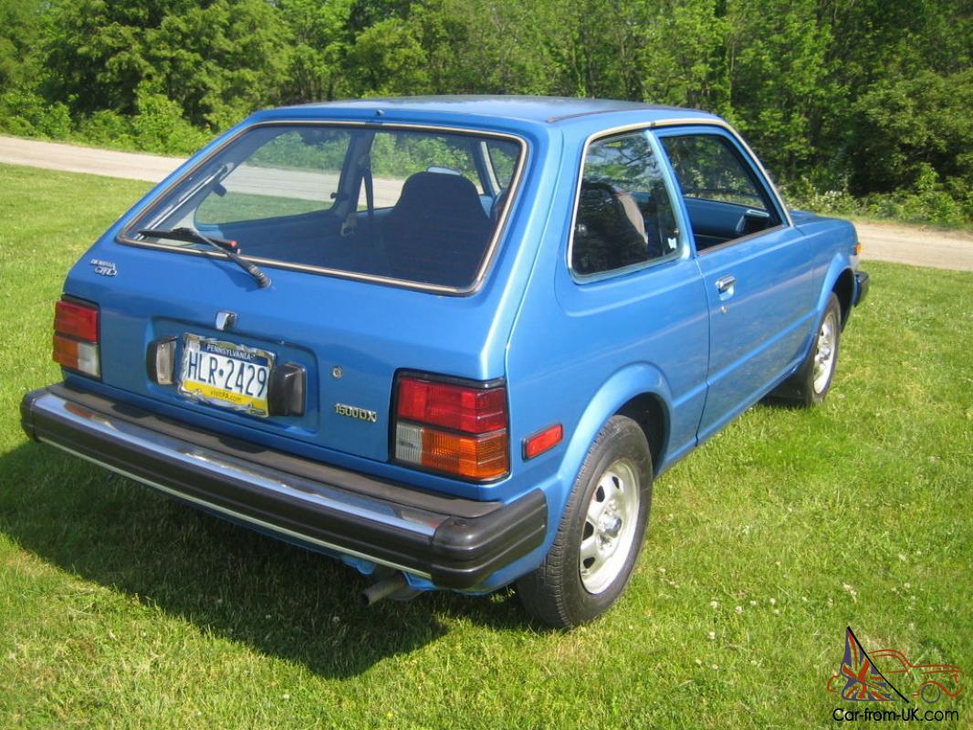1981 Honda Civic DX 1500