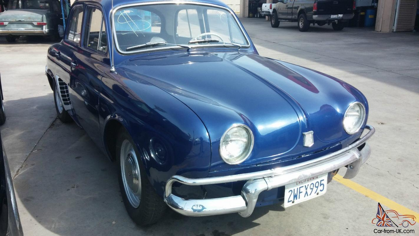 1958 1959 Renault Dauphine French Classic Car