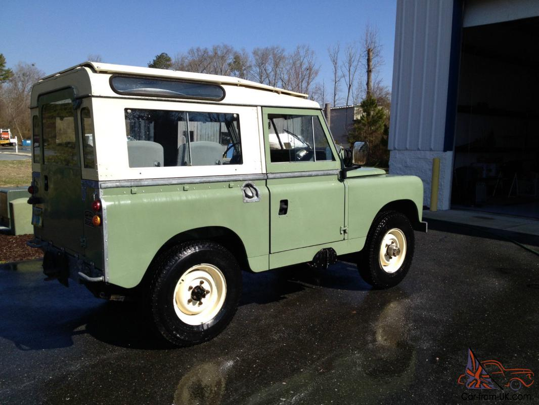 Restored Rare 1961 Land Rover Series II 88 Station Wagon by Private Seller