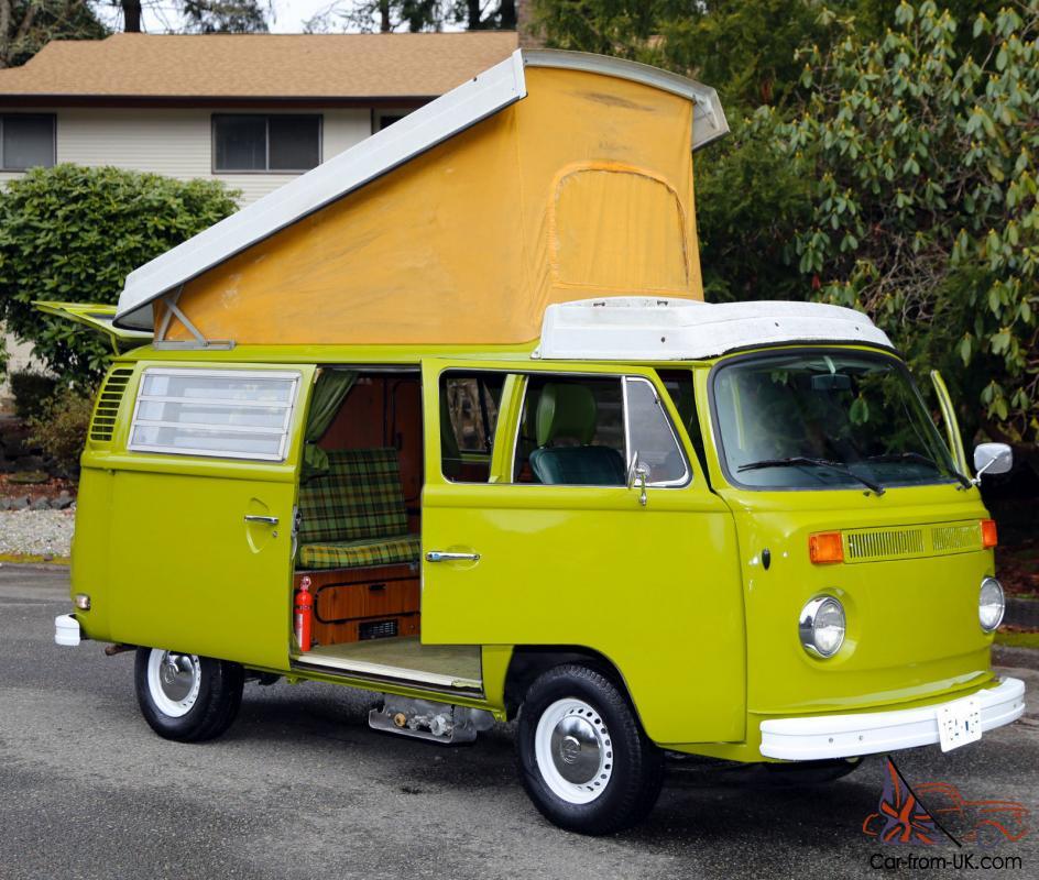 Westfalia Type2 Full Camper Pop Top Vw Bus Van Fuel Injected 4CL 2 0L Bay  Window