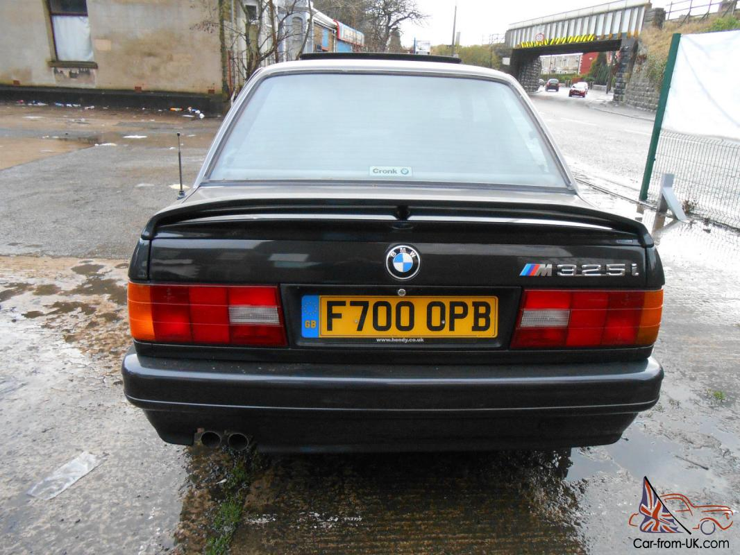 1989 F Bmw E30 325i Sport M Tech Ii Coupe Black Leather Manual Classic Rare Mot