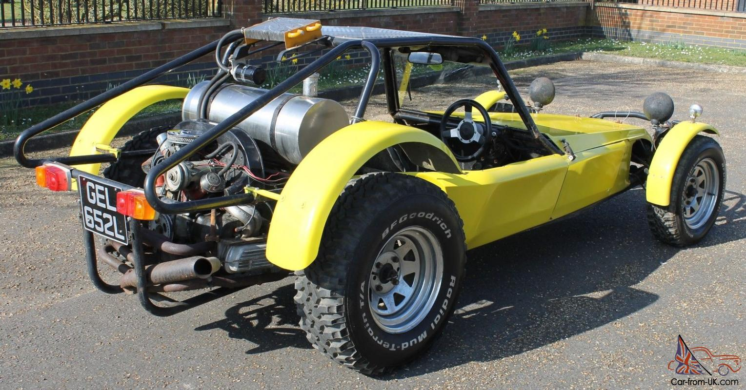 KINGFISHER KUSTOMS SAND RAIL - LIKE UVA FUGITIVE - BUGGY VW BEETLE BASED  KIT CAR