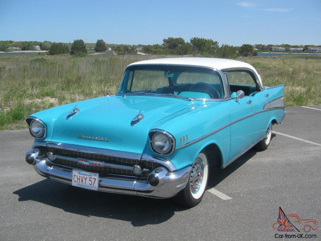 All Chevy 1957 chevy belair 4 door : Chevrolet Bel Air 4 door Sport Hardtop