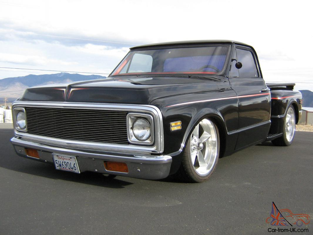 Truck 67 72 chevy truck for sale : 69 70 CHEVY C10 STEPSIDE PICKUP TRUCK CHOPPED BAGGED 20S BEAUTIFUL ...