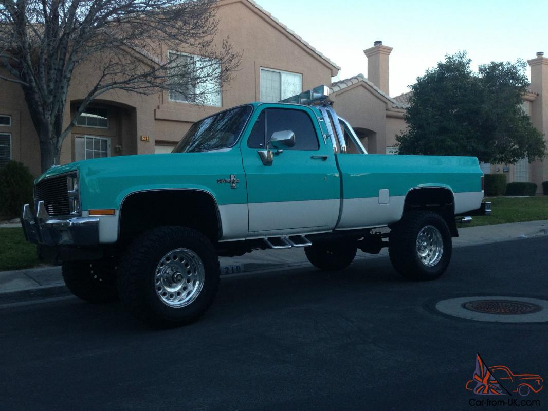 "Classic Chevy Silverado Square Body 4x4 Old School 3"" Lift ..."