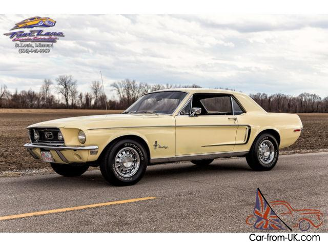 Pleasing 1968 Mustang Sprint 289 V8 Promotional A Code Rare Bench Seat Correct Colors Gamerscity Chair Design For Home Gamerscityorg