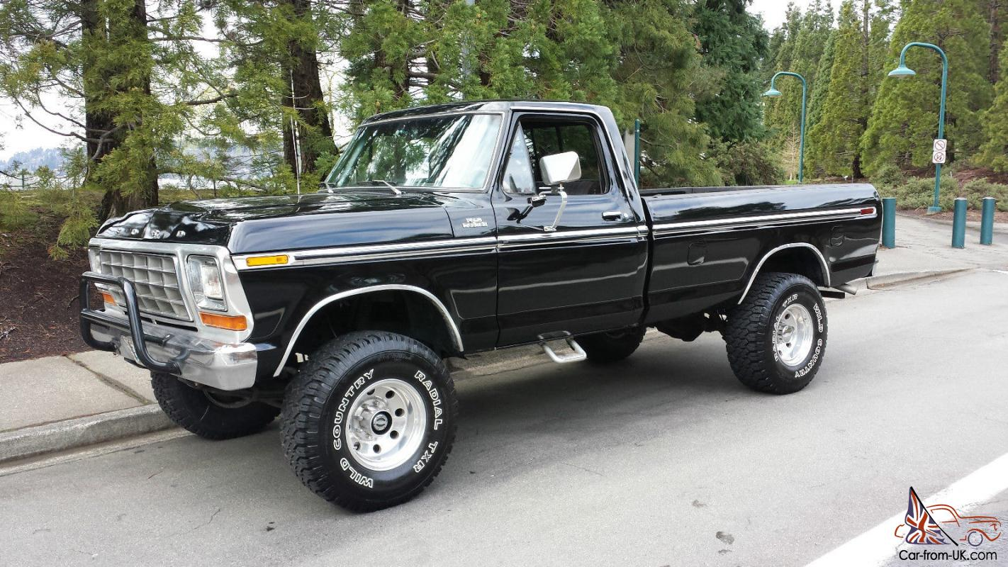 1978 Ford F250 >> 1978 Ford F250 Ranger 4x4