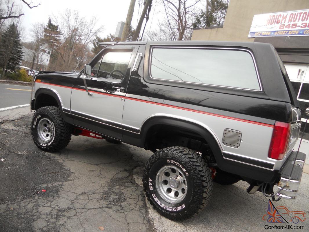1985 Ford Bronco Xlt Lariat 4x4