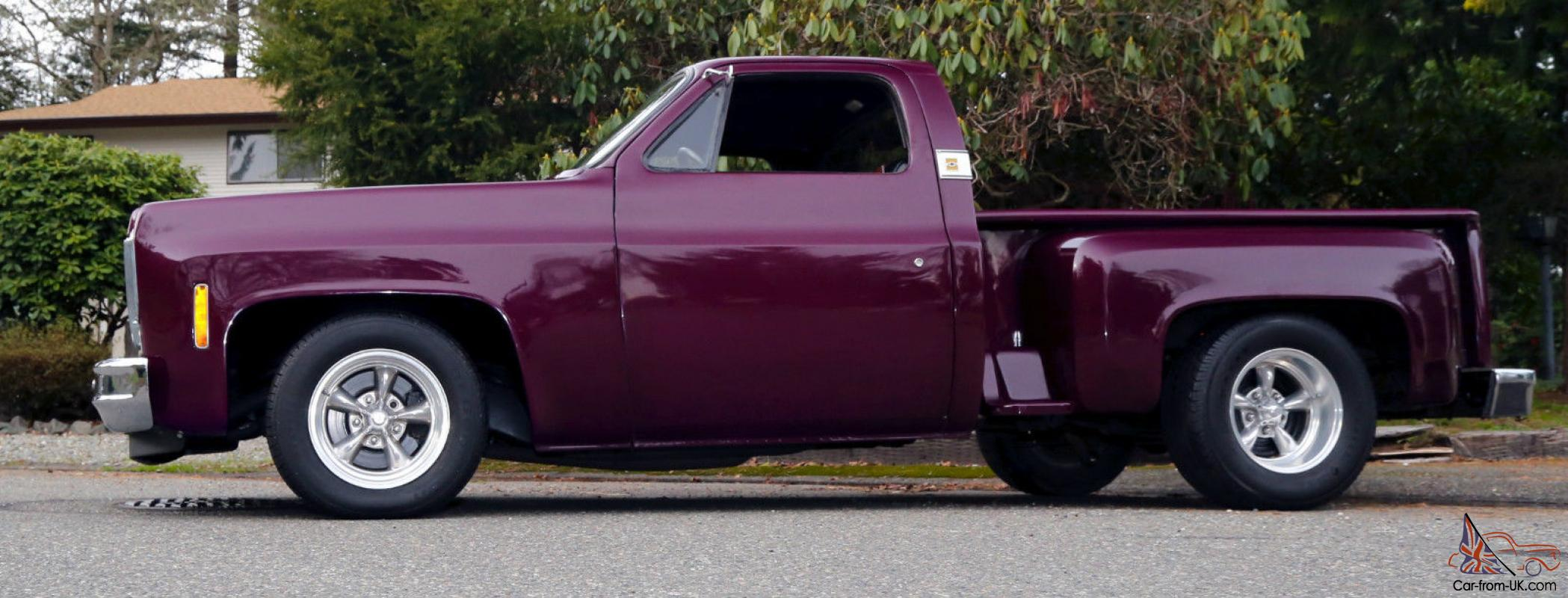 Truck 90s chevy trucks for sale : Stepside Custom CHOP TOP Low Rider Shortbox Pickup X-Show Truck ...