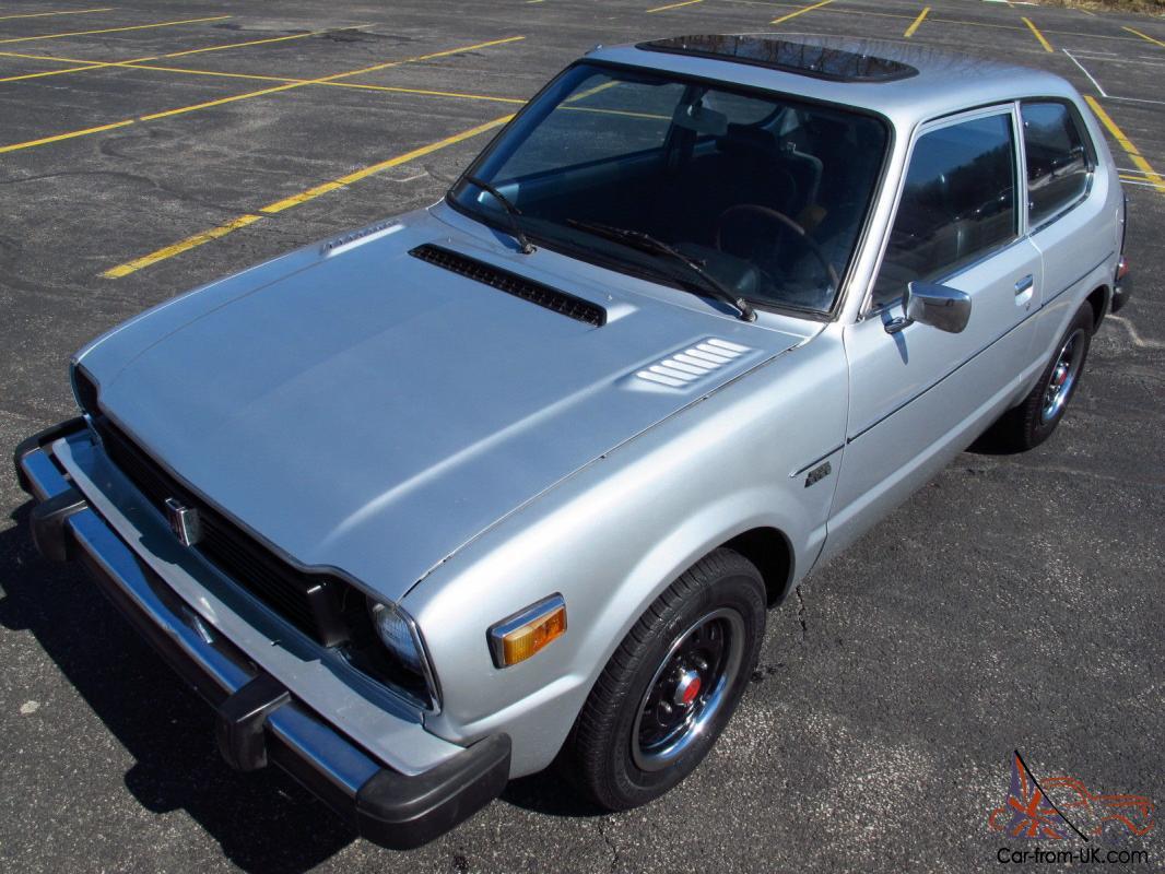 1978 Honda Civic CVCC- rust-free, super clean, 72,000 miles, NO RESERVE