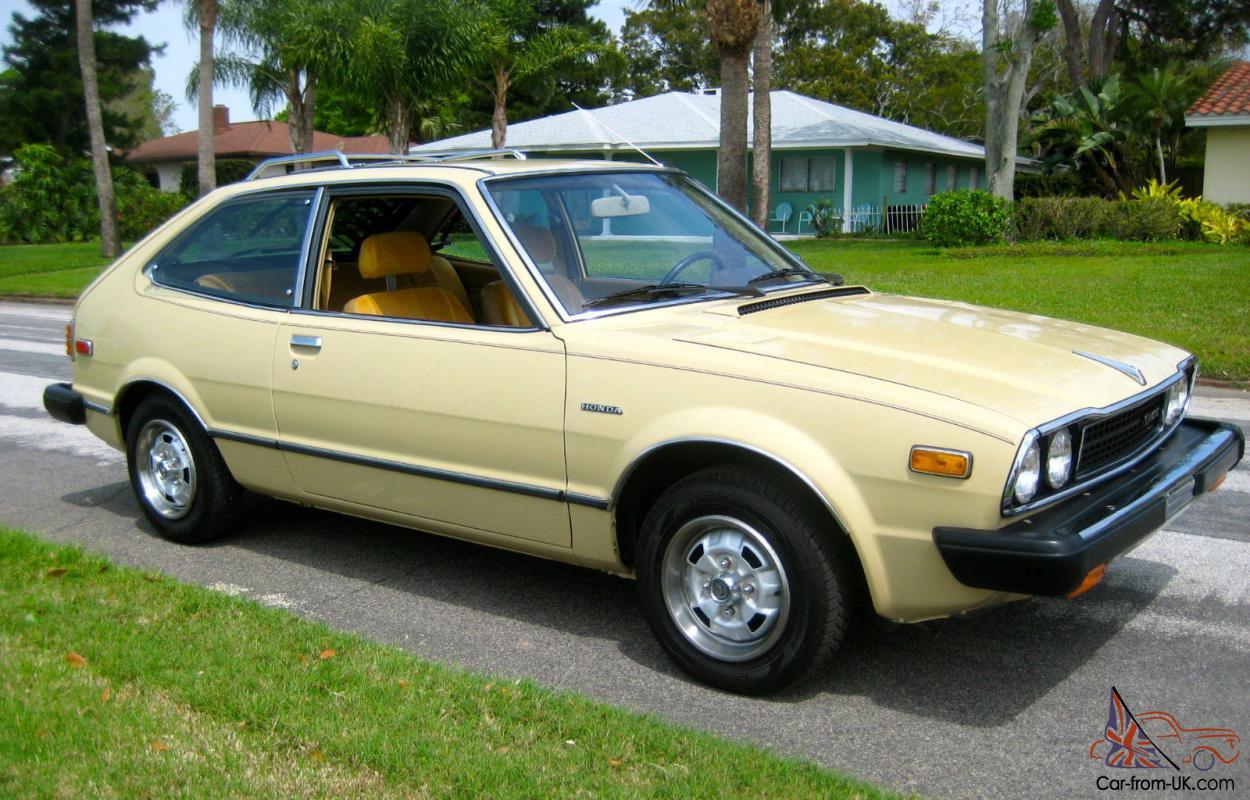 Original, unmolested 1979 Honda Accord CVCC