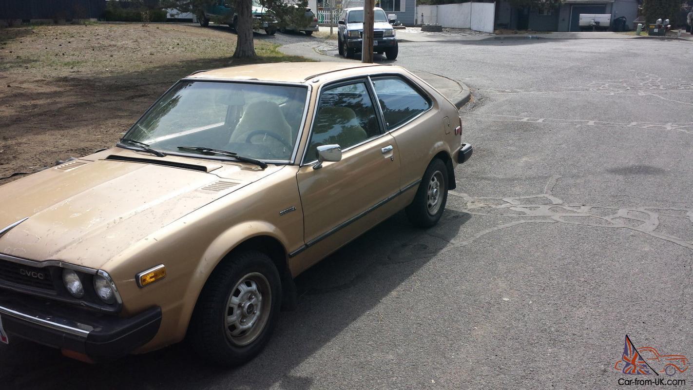 1978 Honda Accord CVCC (Clean)