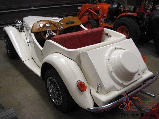 1952 Mg Td Tribute Kit Car New Build Vw Dual Power Classic Vintage