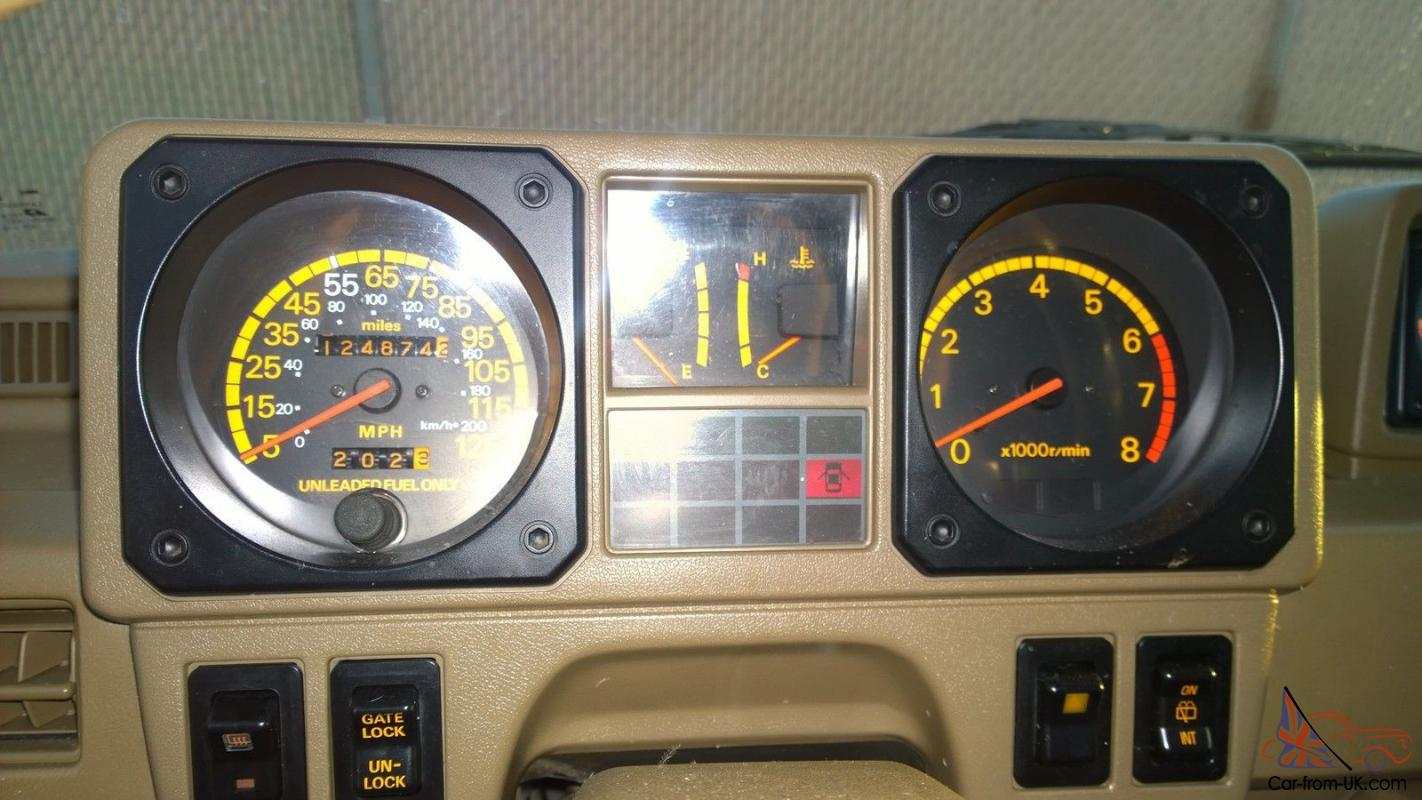[GJFJ_338]  1989 Dodge Raider/ Mitsubishi Montero - 2 Door Rare Original Find Brown  Metallic | 1989 Dodge Raider Wiring Diagram |  | Car-from-UK.com