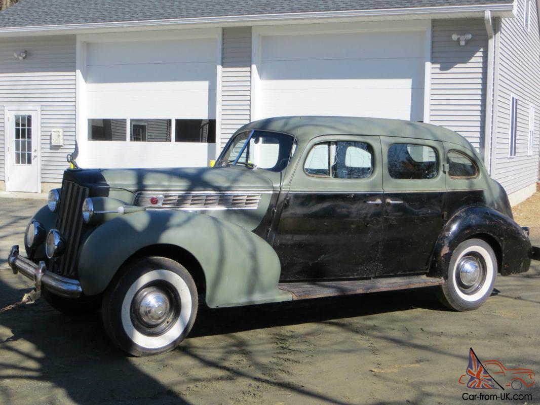 1939 Packard Super 8, Model 1703 sedan