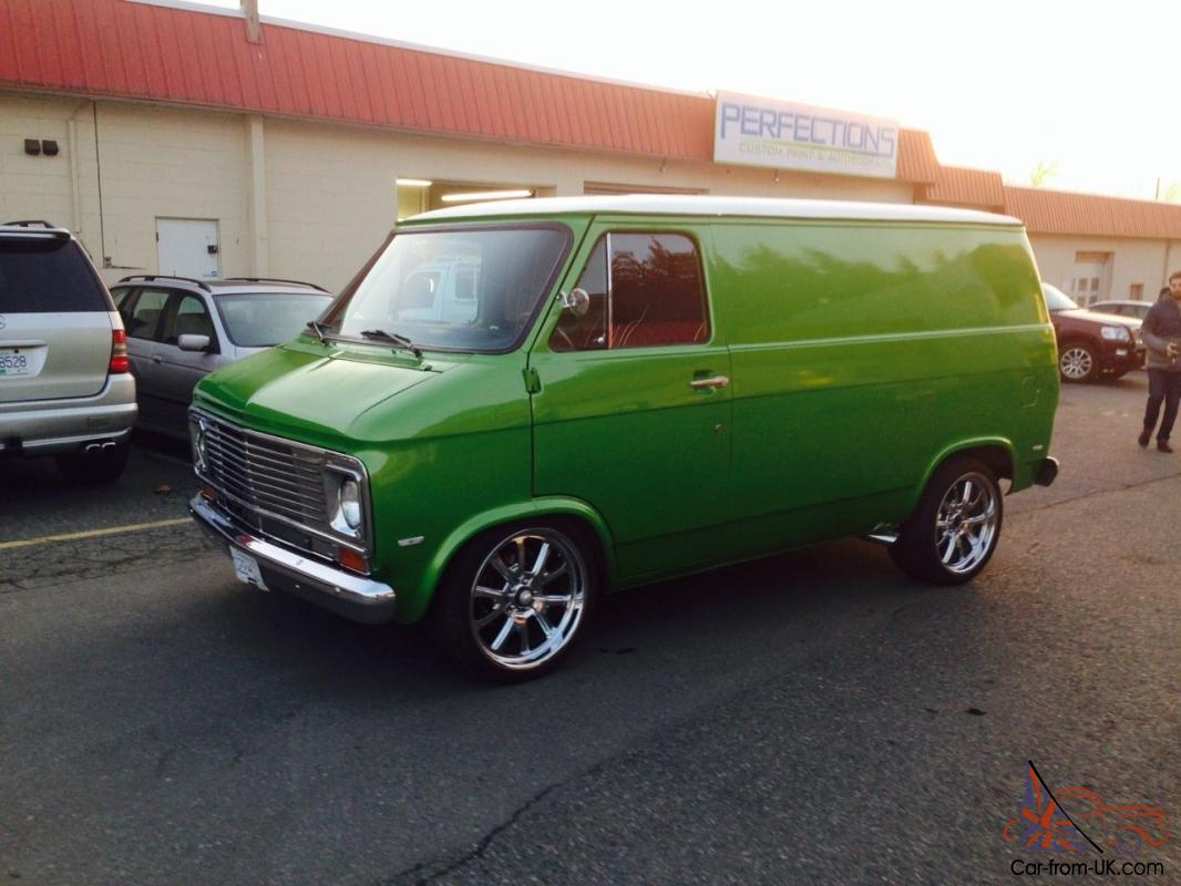 All Chevy 74 chevy : G20 Van Chevy Full Custom Hot Rod