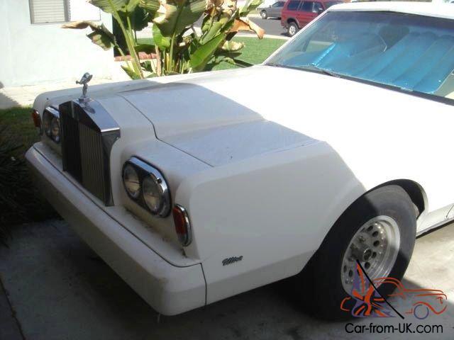 Limousine Lincoln Rolls Royce Replica 225 Quot 1986 Classic Limo