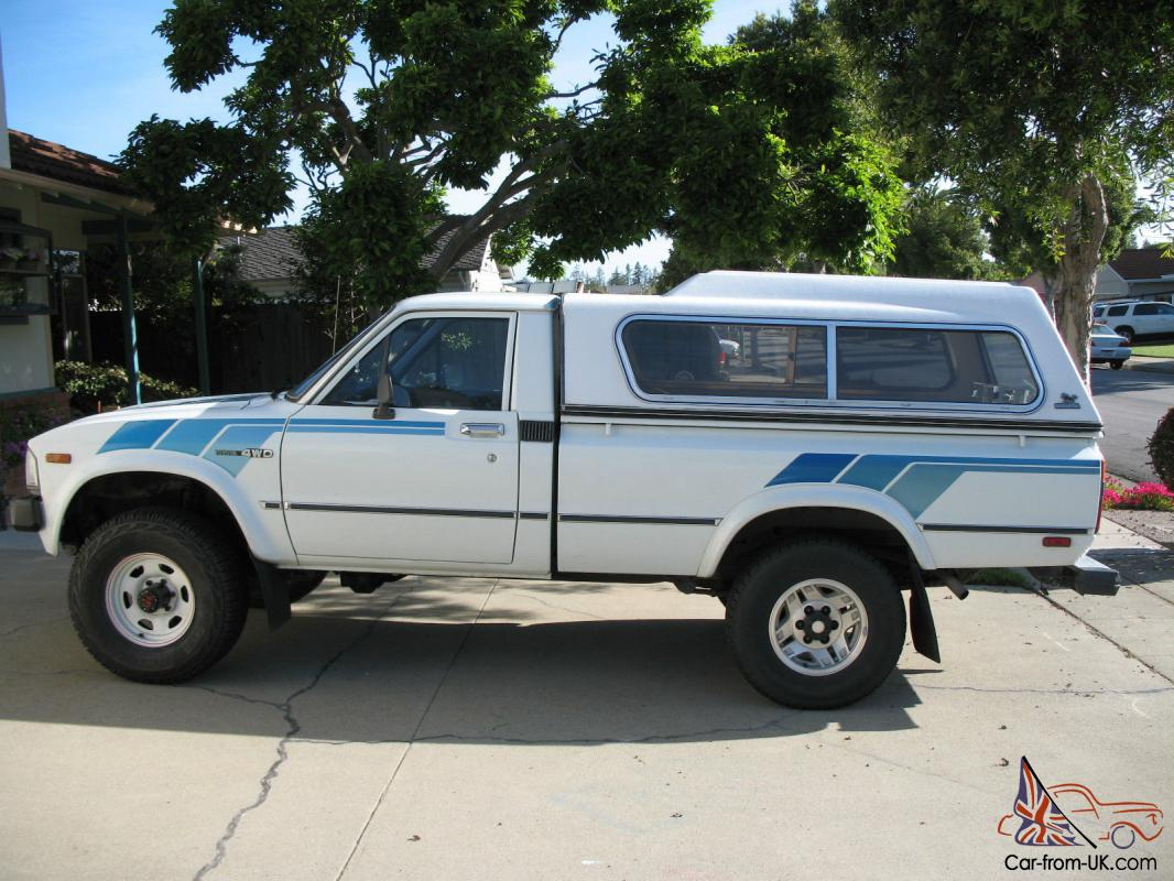 1983 Toyota Tacoma Sr5 4x4 Long Bed Truck