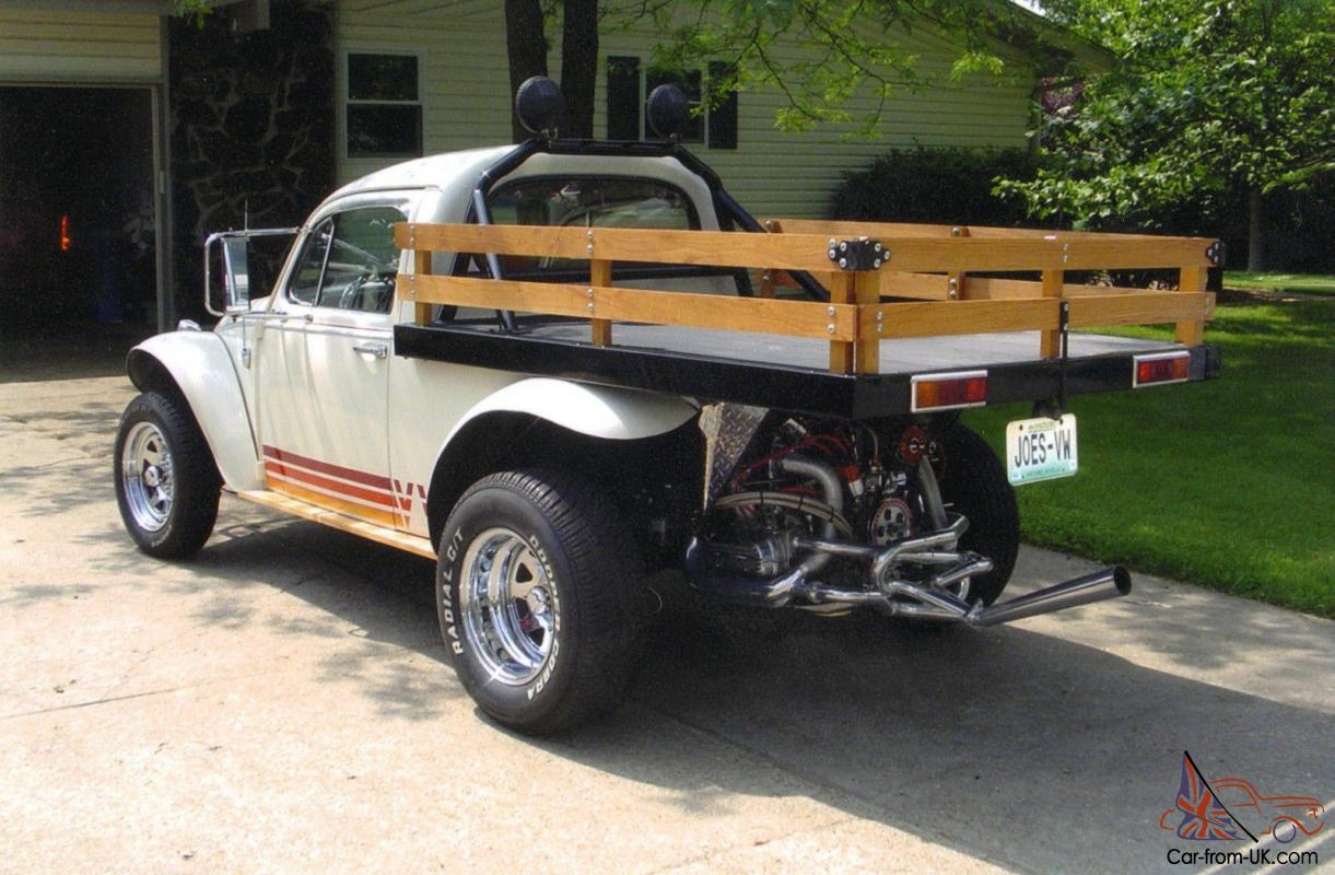 1966 VW Beetle Flatbed Truck