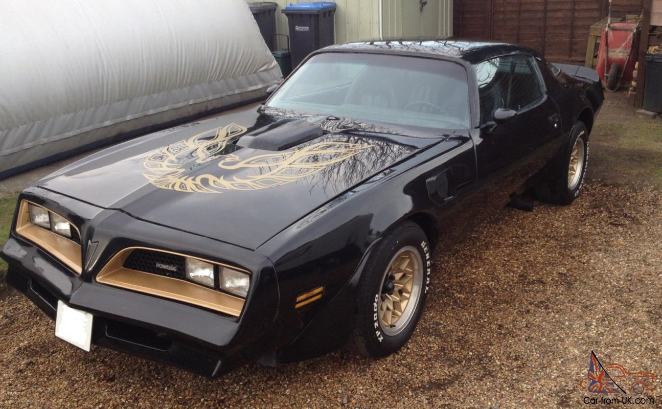 Pontiac Trans Am Fire Bird 1977 6 6 Litre V8