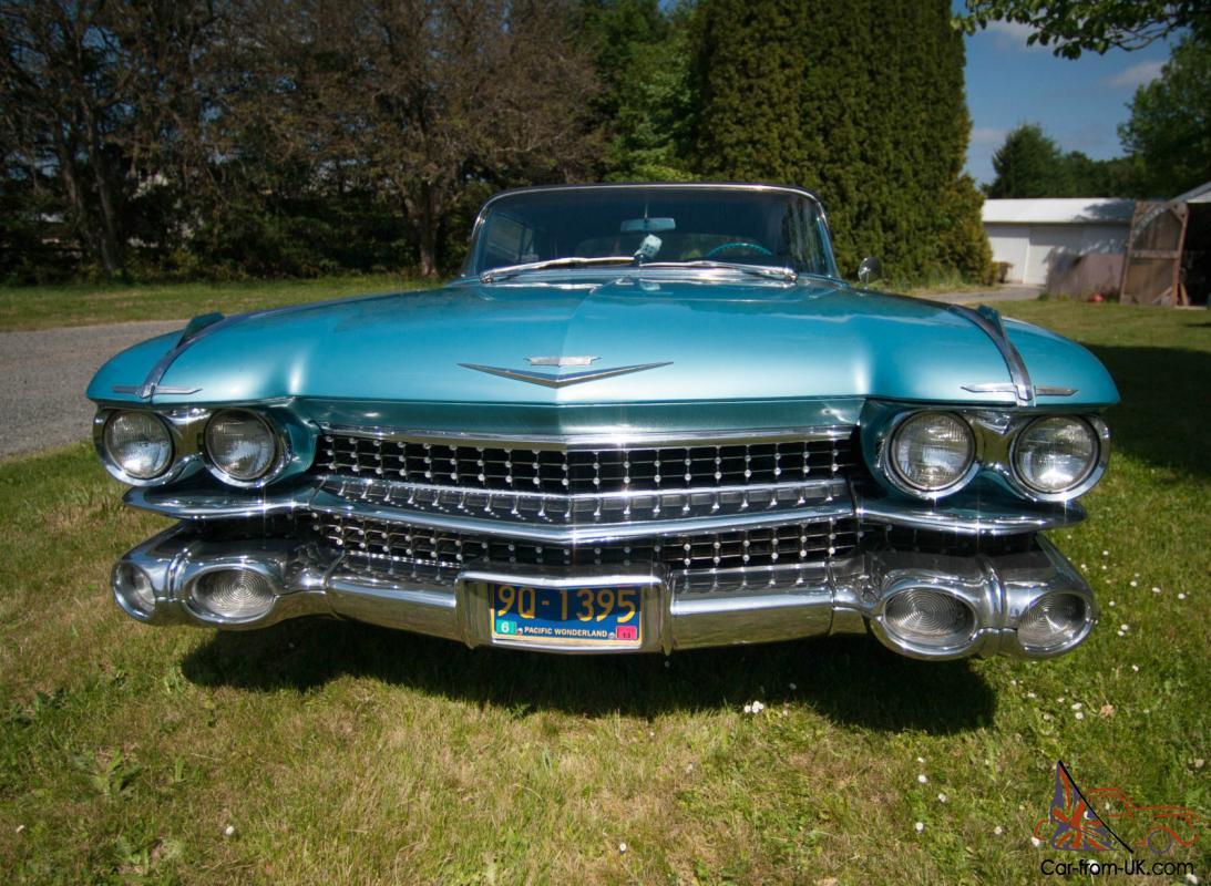 1959 Cadillac Coup de Ville convertible