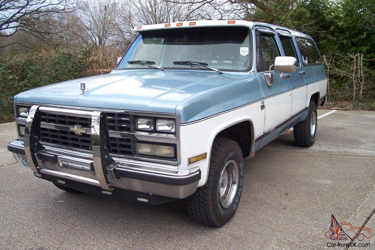 Chevrolet Suburban  6 2 Banks Turbo Diesel V8