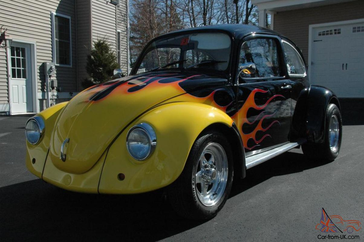 1972 Vw Bug Show Car Cruise Pro Street Drag Fun Rare Scat Cal Custom Rare