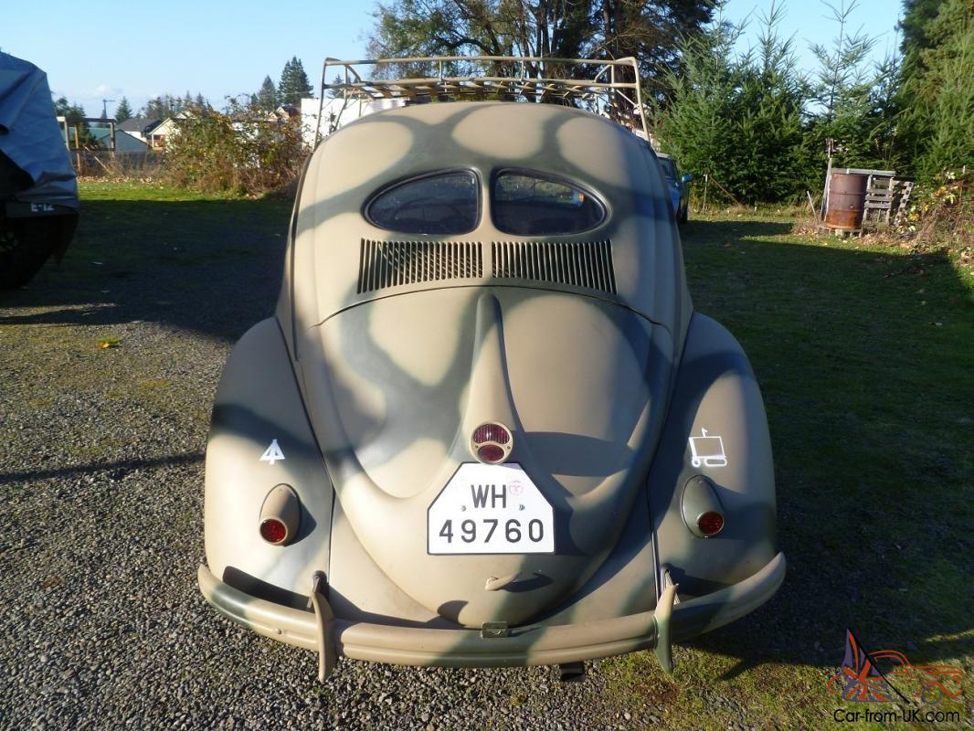 WW2 1943 KdF Type 82E Replica (1962 VW Beetle Sedan)