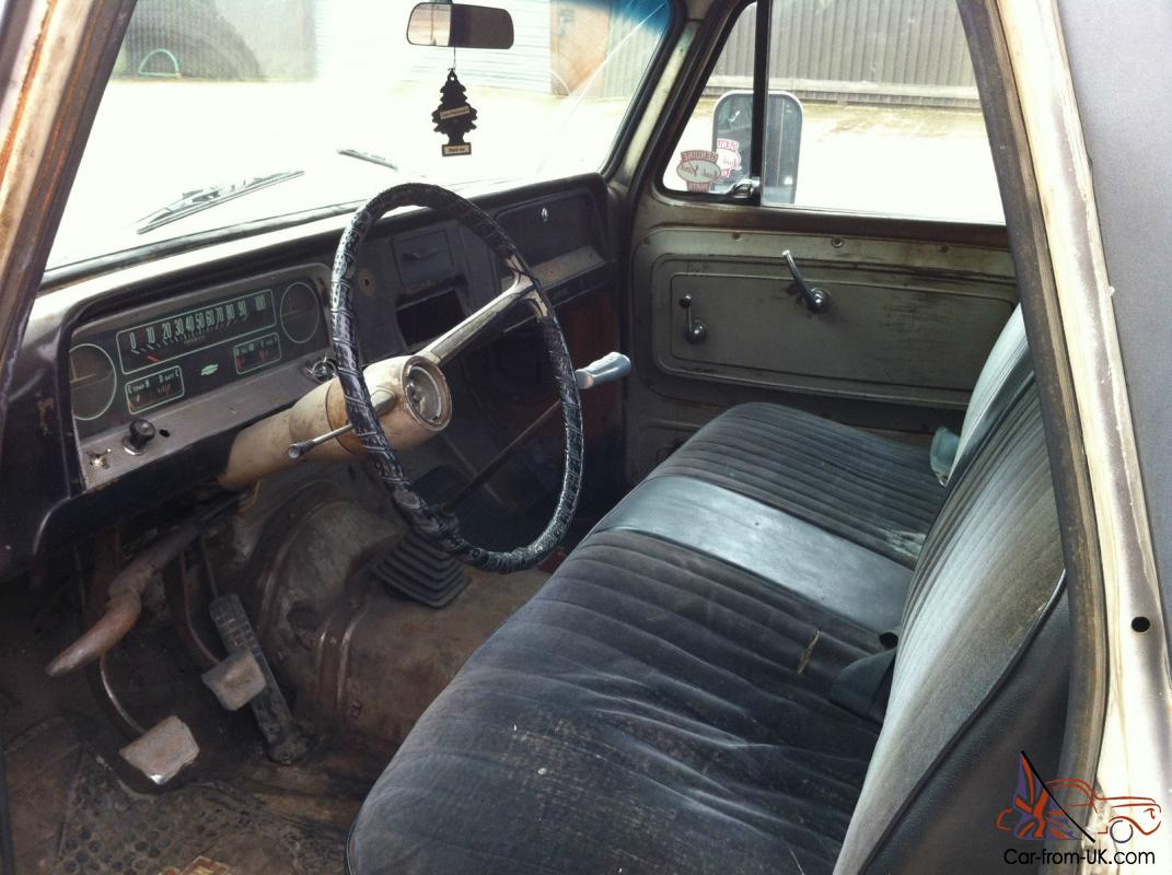 1966 Chevy C10 Pick Up Pickup  350 V8  4 Speed Manual  Lowered  Pas  Pab  Disc