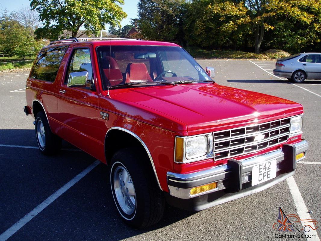 Chevrolet Blazer S10  4 3 Litre  Auto  2 Owners  1988  Taxed  Long Mot