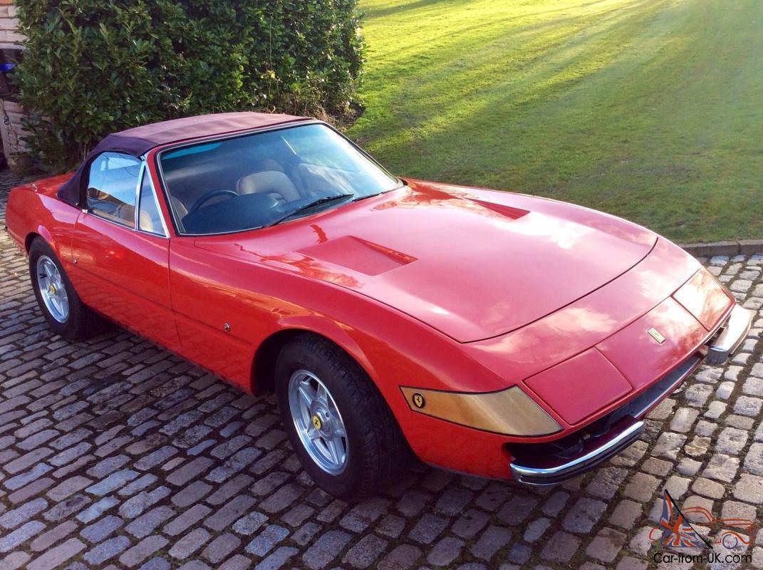 Ferrari Daytona Spyder Replica
