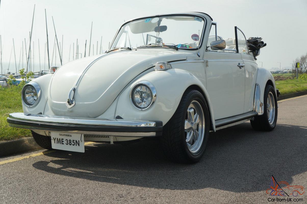 Vw 1303 Beetle Convertible