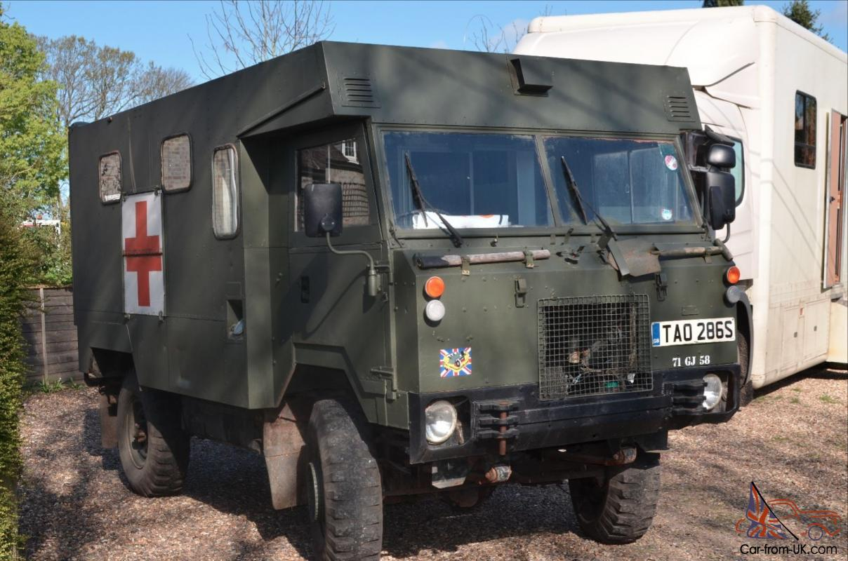 LAND ROVER 101 FORWARD CONTROL AMBULANCE 12 Volt