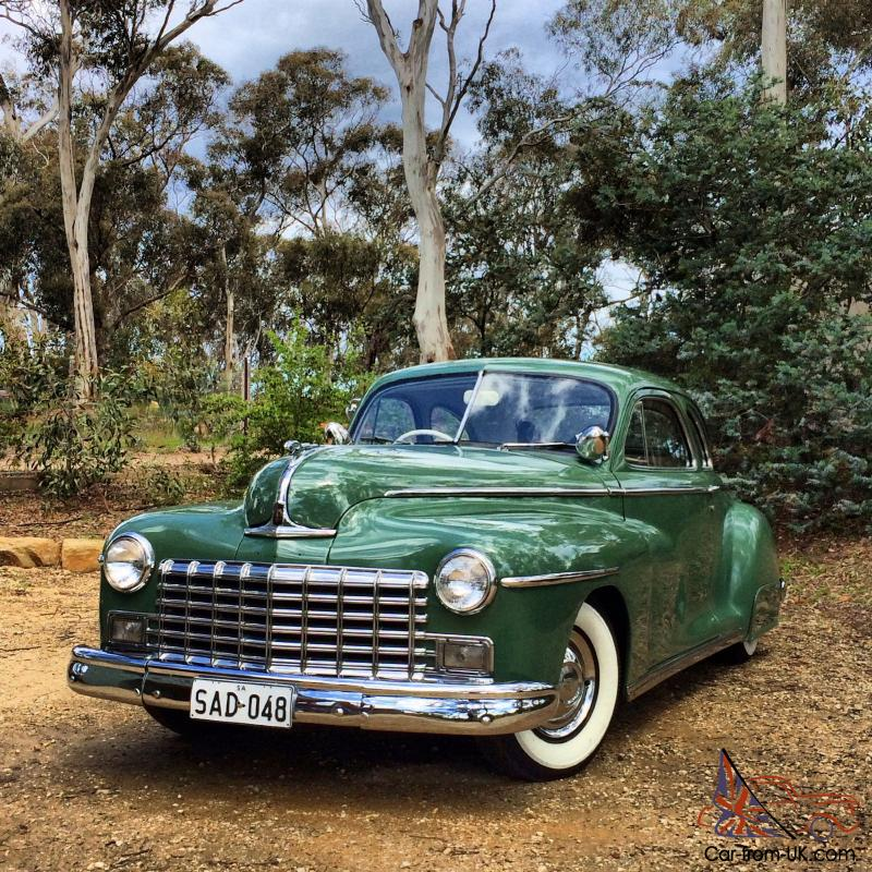 Dodge 1948 Club Coupe Factory RHD Mopar Hotrod In Mile End, SA