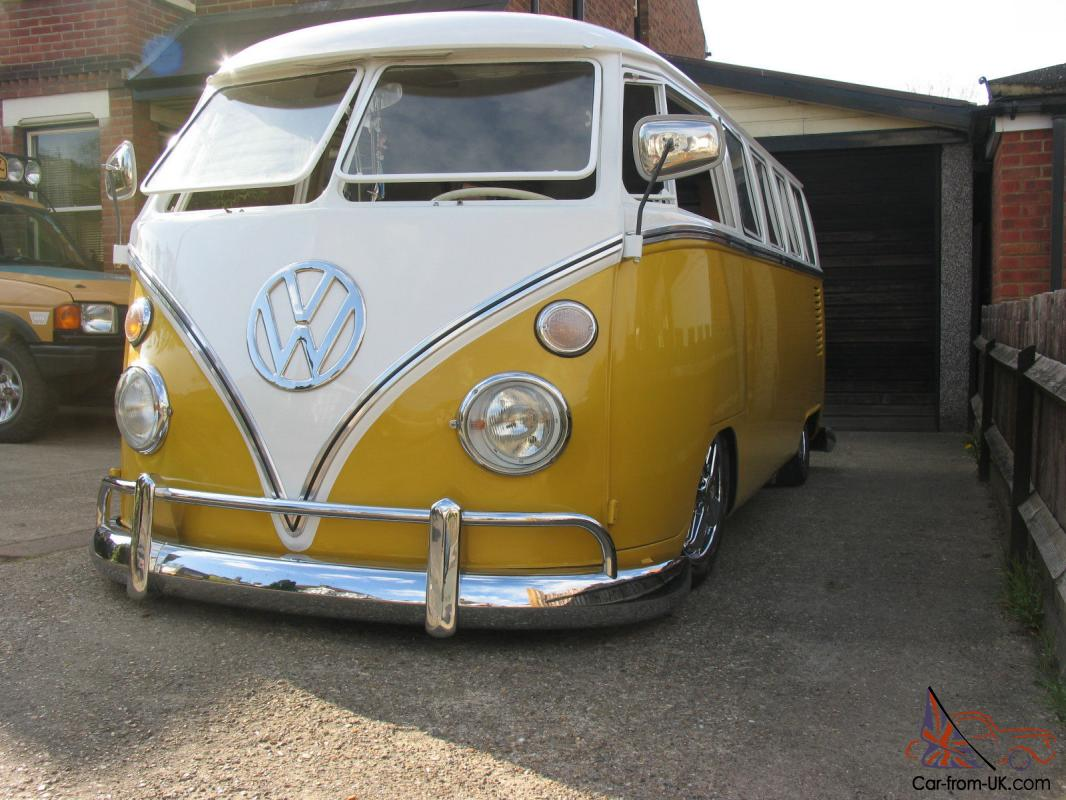 1967 VW SPLITSCREEN CUSTOM CAMPER VAN