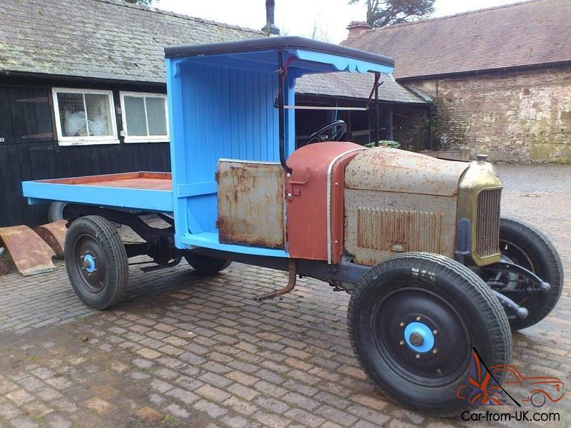 1926 UNIC VINTAGE TRUCK PROJECT French Camion Commercial ...