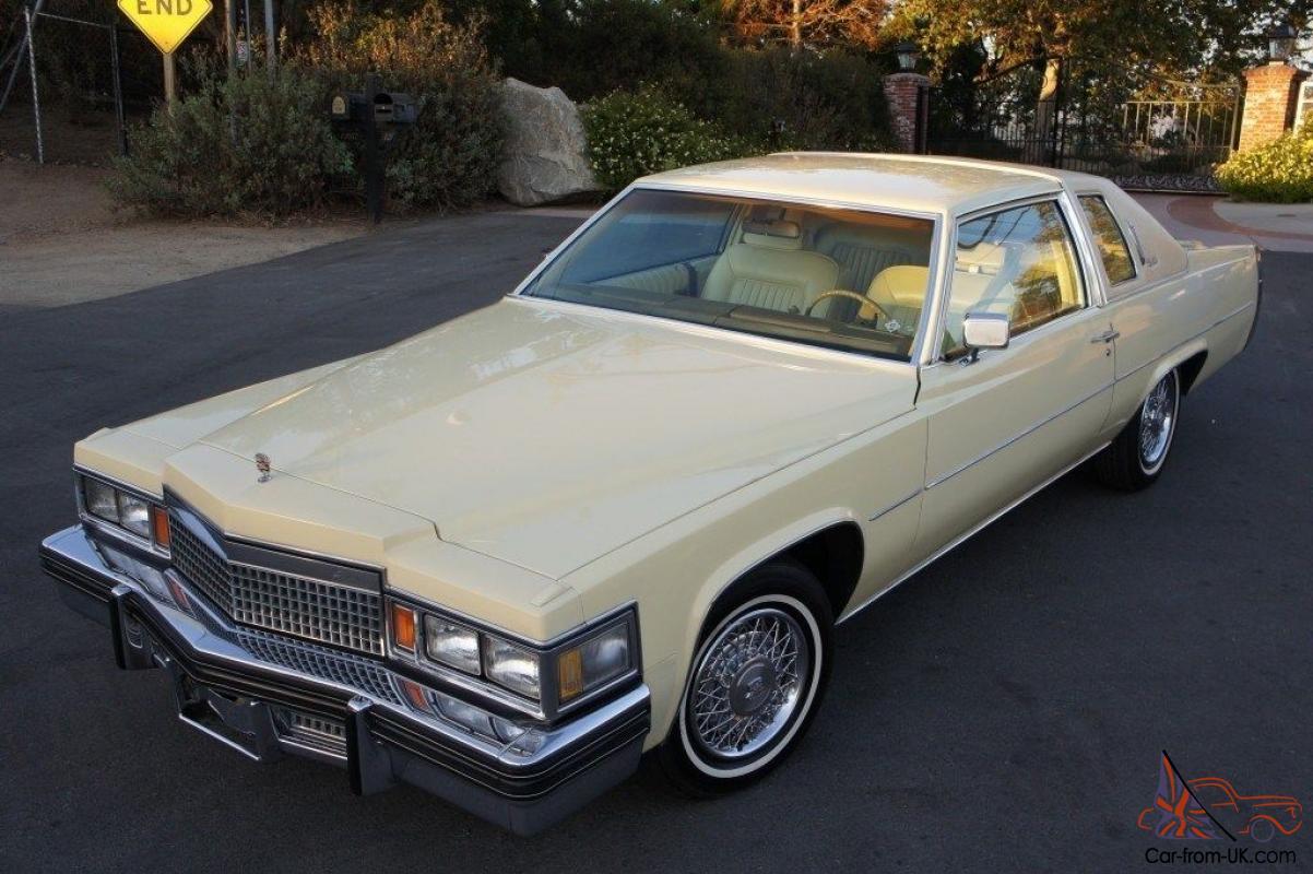 1979 Cadillac Coupe Deville 425ci 7 0l V8 Carb Auto Left Hand Drive