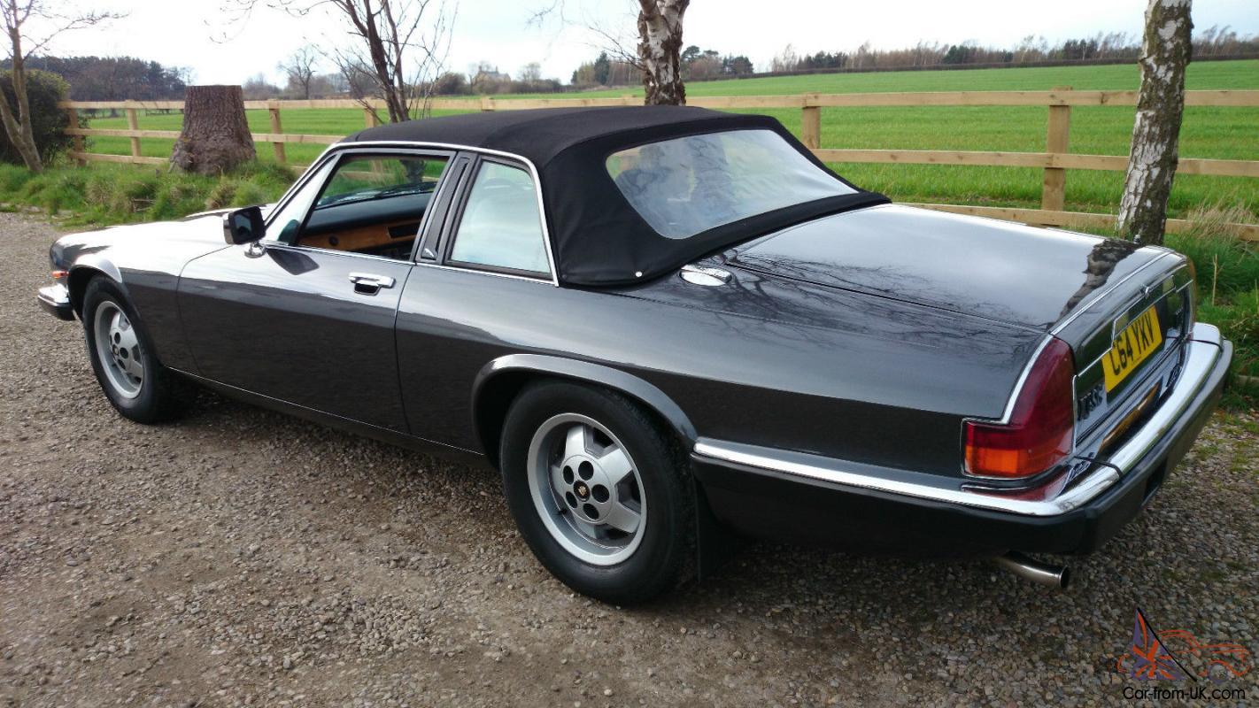 1986 Jaguar XJ-SC HE V12 Cabriolet